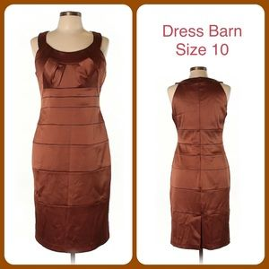 Cocktail Formal Party Dress Barn Sleeveless 10